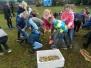 2017-10-06 Treffen mit der polnischen Partnerschule - Besuch einer Tierfarm - Kartoffelfest